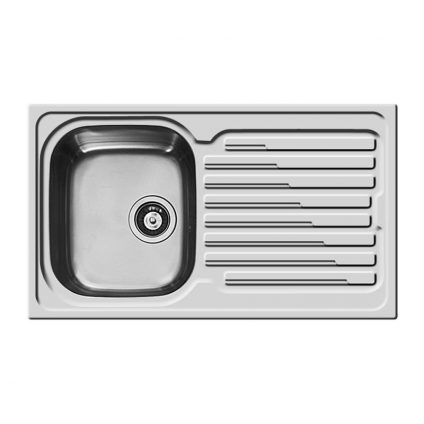 107118001 Amaltia-Single Bowl Reversible Sink With Drainer