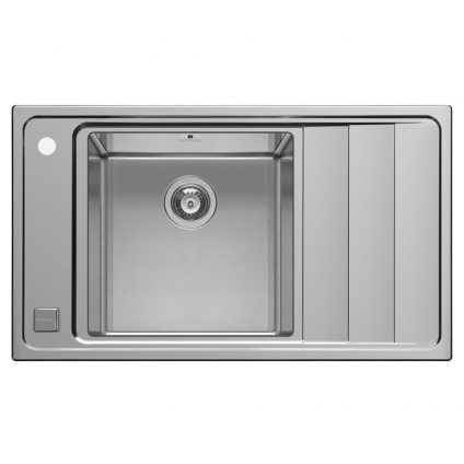 Pyramis Studio Single Bowl Sink With Right Hand Drainer (107149130)