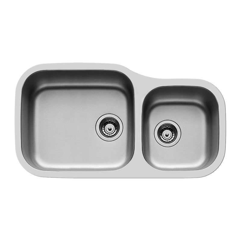 Stainless Steel Undermount Sink Laundry Sink Double Bowl Sink