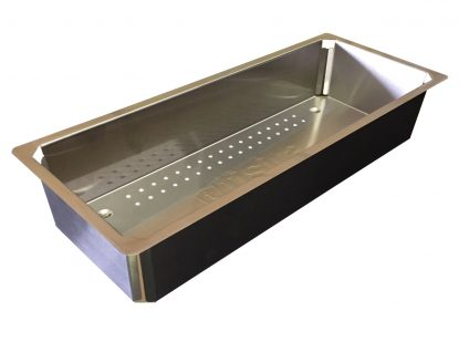 Stainless Steel Colander for Living Edge & Fusion Range Sinks CFSR