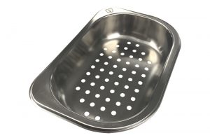 Stainless Steel Colander for Tisira Living Edge 108cm Sink