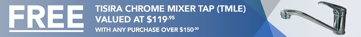 Free TMLE Mixer Tap with Any Purchase Over $150 - SinksDirect