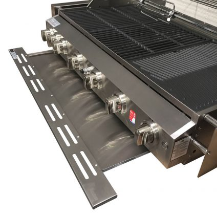 Smart 6 Burner Stainless Steel Built In BBQ Drip Tray for Fats and Oils