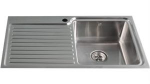 Inset Kitchen Sink 84cm left hand drainer kitchen sink for sale Melbourne | TSF840L