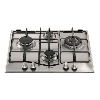 Ariston 60cm 4 Burner Stainless Steel Gas Cooktop