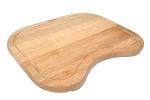 Tisira Wood Chopping Board for Living Edge Range Sink