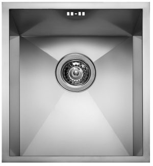 TETRAGON - 34x40cm Single Undermount Sink (100090101)