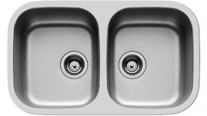 Undermount Kitchen Sink DIONE Double Bowl Sink -109400630